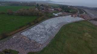 Stolford sea defences