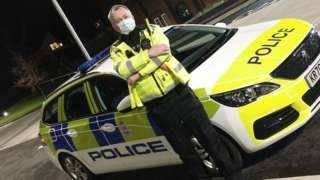Derbyshire police officer