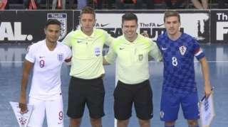 England v Craotia