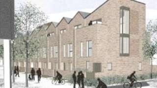 Stoke Wharf CGI of housing plans