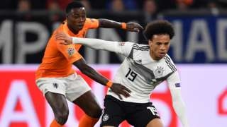 Leroy Sane and Steven Bergwijn
