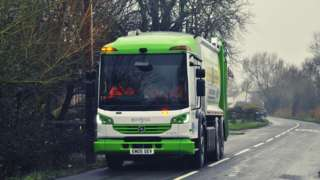 electric recycling vans