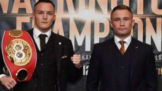 Josh Warrington and Carl Frampton