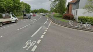 Horspath Driftway and the cycle lane