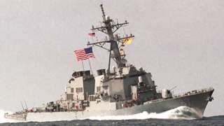USS Cole - archive shot released in October 2000