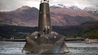 英國擁有4艘攜帶三叉戟導彈系統的前衛級核潛艇,潛艇基地位於蘇格蘭西海岸的克萊德