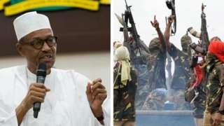 Muhammadu Buhari atawọn Niger Delta Avengers