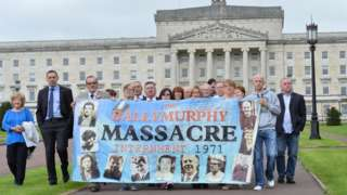 Ballymurphy campaign at Stormont