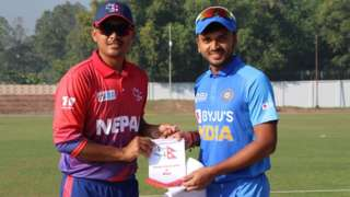 नेपाल र भारतका कप्तान