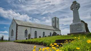 St Patrick's Church in Jurby