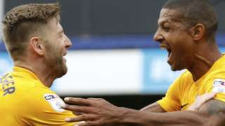 Jermaine Beckford and Paul Gallagher