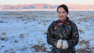 Bayarmaa Chuluunbat has been creating awareness among herders about the importance of snow leopards in local ecosystems