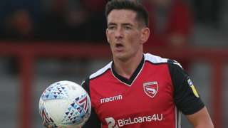 Luke Conlan in action for Morecambe