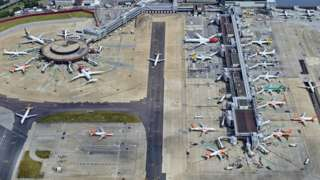A generic picture of Gatwick Airport