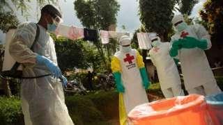 Ku dhawaad 1,400 oo qof ayaa u dhintay cudurka Ebola ee ka dillaacay DR Congo