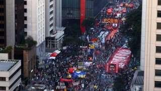 Protesto contra Bolsonaro neste sábado, na avenida Paulista