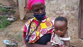 Kenyalı kadın