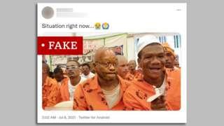Labelled image of former President Zuma