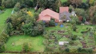 Drone pic of farm near Ruinerwold