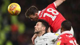 Derby County v Nottingham Forest