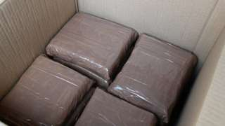 Suspected cocaine packages