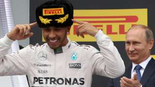 Lewis Hamilton wins the Russian Grand Prix