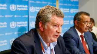 Dr Mike Ryan, head of the WHO's emergencies team