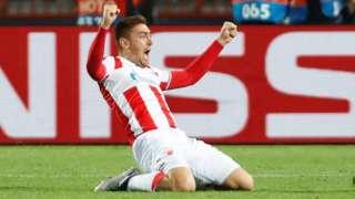 Crvena Zvezda's Milan Pavkov