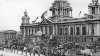 Belfast City Hall, June 1921