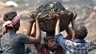 Coal supplies power to around 70% of India's electric grid