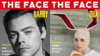 Harry Styles and Dua Lipa