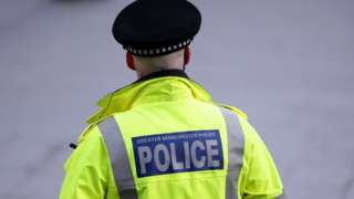 GMP officer on duty in Manchester city centre