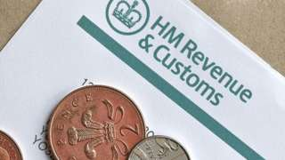 Coins and HMRC letter