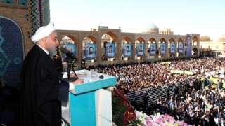 Madaxweynaha dalka Iran oo ku dhawaaqay inuu dalkiisa helay keyd saliid oo ka badan 53 bilyan oo fuusto