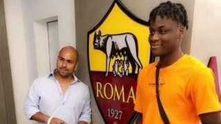 Mbunya Alemanji signs for Roma
