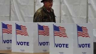 US ballot boxes