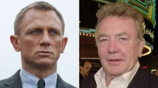 Daniel Craig in Skyfall and Albert Finney