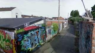 Elm Street Lane, Roath, Cardiff