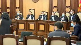 Доогерлер Конституциялык палатага 28-октябрда кайрылган