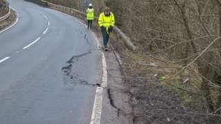 A801 Avon Gorge road