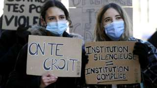 Protest at Sciences Po Strasbourg, 12 Feb 21