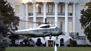 Marine One at White House