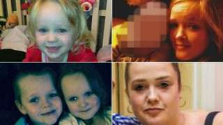 Four children who died in house fire in Salford and their mother