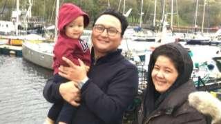 Frishta and her family