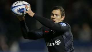 Alex Goode of Saracens