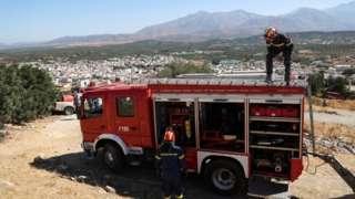 Girit adasında 27 Eylül'de meydana gelen 5,8 büyüklüğündeki depremde 1 kişi hayatını kaybetmiş, 10 kişi yaralanmış, bazı evler de hasar görmüştü.