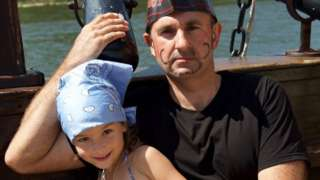 Володимир Гапоненко з донькою Поліною