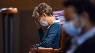 Helga Wauters in court