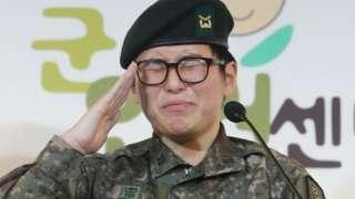 transgender soldier Byun Hui-soo