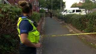 Police officer at scene of Runcorn shooting